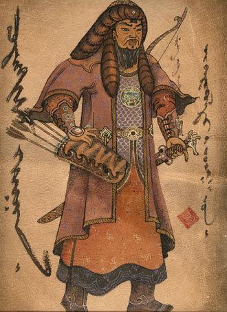Чигисхан, ещё один средневековый в кавычках рисунок
