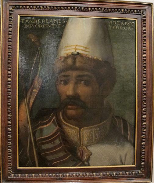 Изображение Тамерлана в итальянской живописи XVI века