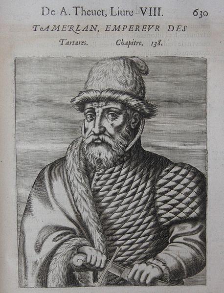Тамерлан. Французская живопись 16 века.