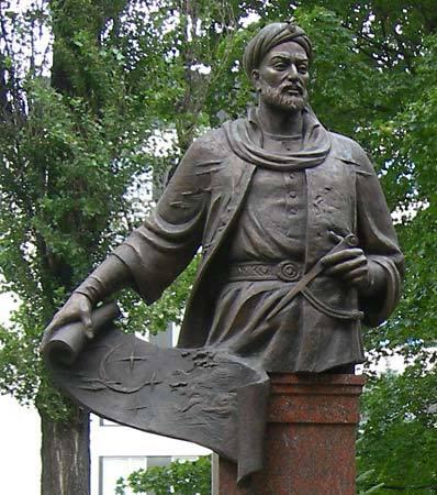 Памятник Улугбеку.
